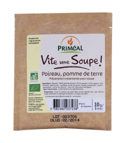 Vite une soupe poireau & pomme de terre BIO - 10g - Priméal