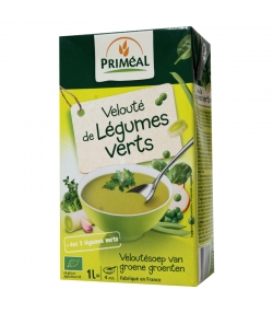 Velouté de légumes verts BIO - 1l - Priméal