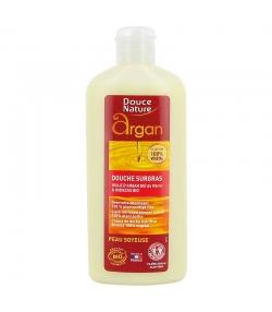 Rückfettende BIO-Duschcreme Arganöl & Hibiskus - 250ml - Douce Nature