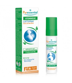 Spray aérien respiratoire 19 huiles essentielles - 20ml - Puressentiel