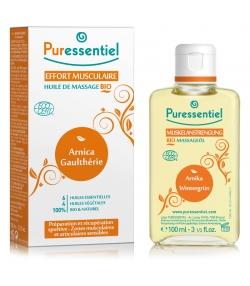 BIO-Massageöl Muskelanstrengung 6 ätherische & 4 pflanzliche Öle - 100ml - Puressentiel