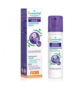Raumspray Entspannung & Schlaf 12 ätherische Öle - 75ml - Puressentiel