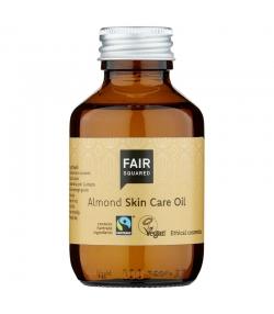 Natürliches Hautpflege-Öl Mandel - 100ml - Fair Squared