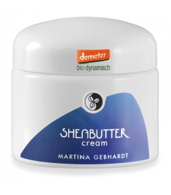 Crème visage BIO beurre de karité - 50ml - Martina Gebhardt