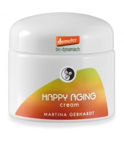 Crème nourrissante & protectrice visage BIO happy aging - 50ml - Martina Gebhardt
