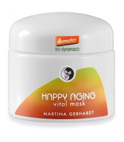 Masque vitaminé BIO happy aging - 50ml - Martina Gebhardt