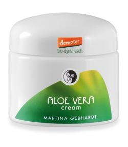 Crème hydratante & apaisante visage BIO aloe vera - 50ml - Martina Gebhardt