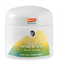 Crème nourrissante & protectrice mains & ongles BIO camomille - 100ml - Martina Gebhardt