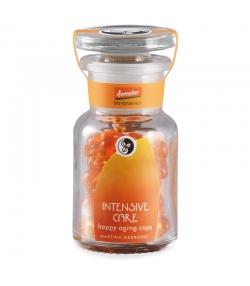 Soin intensif visage happy aging BIO huile de pépins de cynorrhodon - 40 capsules - Martina Gebhardt