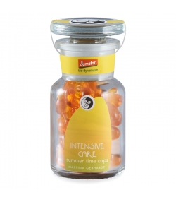 Soin intensif visage summer time BIO huile de noix de bancoulier - 40 capsules - Martina Gebhardt