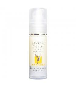 Natürliche reichhaltige revitalisierende Nachtcreme Arganöl & Vitamin E - 30ml - Li cosmetic Rich Care
