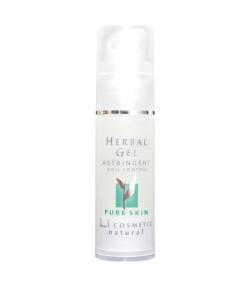 Natürliches feuchtigkeitsspendendes & adstringierendes Gel Kräuter & Vitamin C - 30ml - Li cosmetic Pure Skin