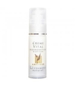Natürliche regenerierende Anti-Aging Nachtcreme Arganöl & Vitamin E - 30ml - Li cosmetic Anti Age