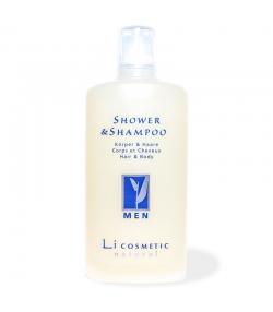 Gel douche & shampooing homme naturel avoine - 200ml - Li cosmetic Men