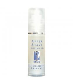 Natürliches erfrischendes After Shave Gel für Männer Holunderblüten & Bisabolol - 30ml - Li cosmetic Men
