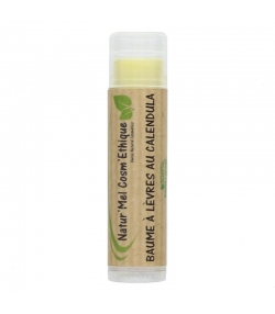 Baume à lèvres naturel calendula - 5g - Natur'Mel Cosm'Ethique