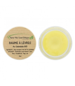 Natürlicher Lippenbalsam Calendula - 15ml - Natur'Mel Cosm'Ethique