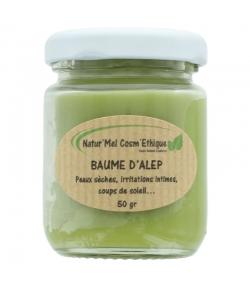Natürlicher Aleppo Balsam Oliven & Lorbeeren - 50g - Natur'Mel Cosm'Ethique
