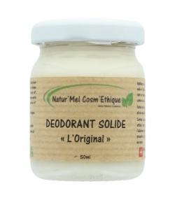 Natürlicher Deobalsam L'Original Palmarosa, Lavendel & Teebaum - 50ml - Natur'Mel Cosm'Ethique