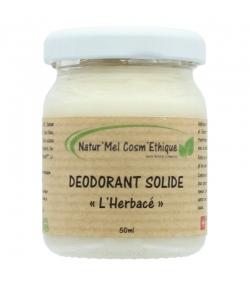 Déodorant baume L'Herbacé naturel romarin, sauge sclarée & menthe verte - 50ml - Natur'Mel Cosm'Ethique
