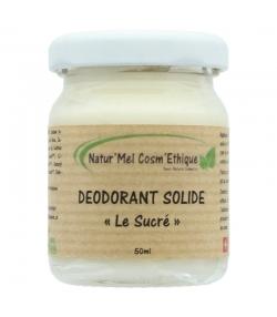 Déodorant baume Le Sucré naturel ylang ylang, cèdre de l'Atlas & sauge sclarée - 50ml - Natur'Mel Cosm'Ethique