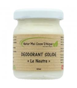 Déodorant baume Le Neutre naturel sans huile essentielle - 50ml - Natur'Mel Cosm'Ethique