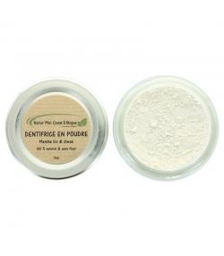 Dentifrice en poudre naturel menthe & siwak sans fluor - 35g - Natur'Mel Cosm'Ethique