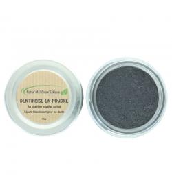 Dentifrice en poudre blanchissant naturel charbon végétal sans fluor - 45g - Natur'Mel Cosm'Ethique
