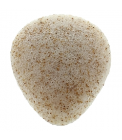 Natürlicher Konjac Gesichtsschwamm Nussschalen - 1 Stück - Natur'Mel Cosm'Ethique