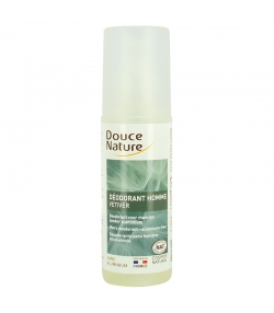 Déodorant spray homme BIO vétiver - 125ml - Douce Nature