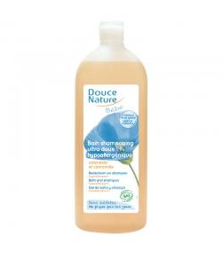 Bain shampooing bébé BIO calendula & camomille - 1l - Douce Nature