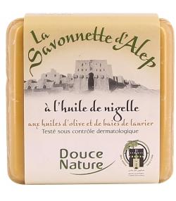 Savonnette d'Alep BIO nigelle - 100g - Douce Nature