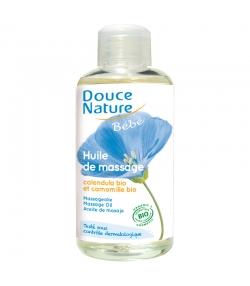 Huile de massage bébé BIO calendula & camomille - 100ml - Douce Nature
