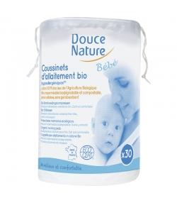 Coussinets d'allaitement bébé BIO – 30 pièces – Douce Nature