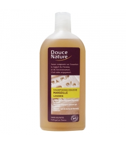 Shampooing douche Marseille BIO lavandin – 300ml – Douce Nature