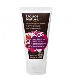 Kinder BIO-Zahnpasta Rote Früchte ohne Fluor – 50ml – Douce Nature