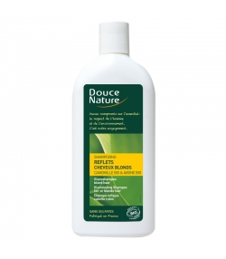 BIO-Shampoo Farbreflexe Kamille & Hafer - 300ml - Douce Nature