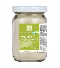BIO-Wasabi Pulver - 40g - NaturKraftWerke