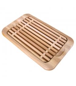 Planche à pain et grille en hêtre - 1 pièce - ah table !