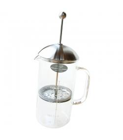 Cafetière à piston en verre & inox 1l - 1 pièce - ah table !