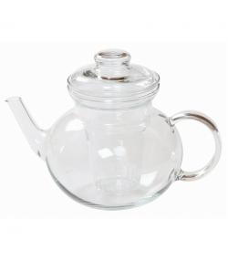 Teekanne aus Glas 1l mit Deckel - 1 Stück - ah table !