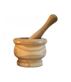 Petit mortier avec pilon en frêne - 1 pièce - ah table !