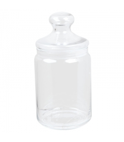 Bonbonnière en verre 1l - 1 pièce - ah table !