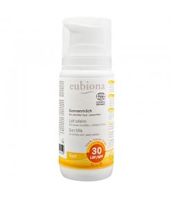 Lait solaire visage & corps BIO IP 30 grenade & beurre de karité - 100ml - Eubiona