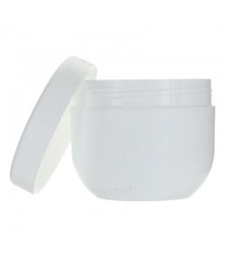 Pot en plastique blanc 500ml avec couvercle à vis - 1 pièce - Aromadis