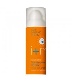 Crème solaire visage naturelle IP 30 tournesol & lilas - 50ml - i+m Naturkosmetik Berlin Sun Protect