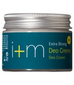 Déodorant crème extra fort 24h BIO amande douce, olive & zinc - 30ml - i+m Naturkosmetik Berlin