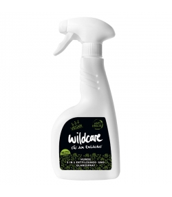 Hunde 2in1 BIO-Entfilzungs- & Glanzspray Gurke & Hopfen - Anti Kraus - 500ml - Wildcare