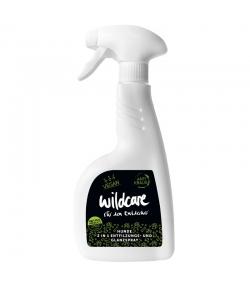 Spray de démelage & brillance 2en1 pour chien BIO concombre & houblon - Anti crépus - 500ml - Wildcare