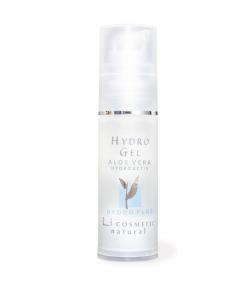 Gel hydratant naturel aloe vera & rose - 30ml - Li cosmetic Hydro
